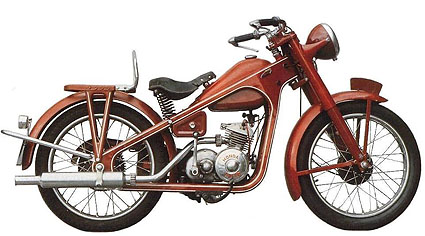 Honda Dream D 1950